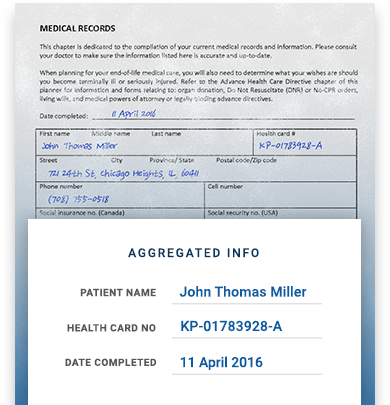 Medical Record Transcribing